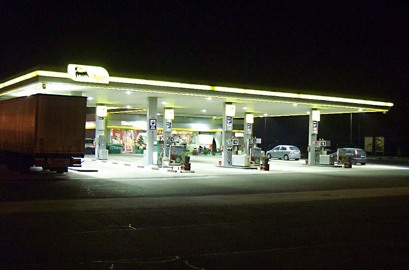 AGIP Benzinkutak LED Korszerűsítése
