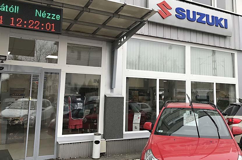 Hungarocar Suzuki Ház LED Korszerűsítés