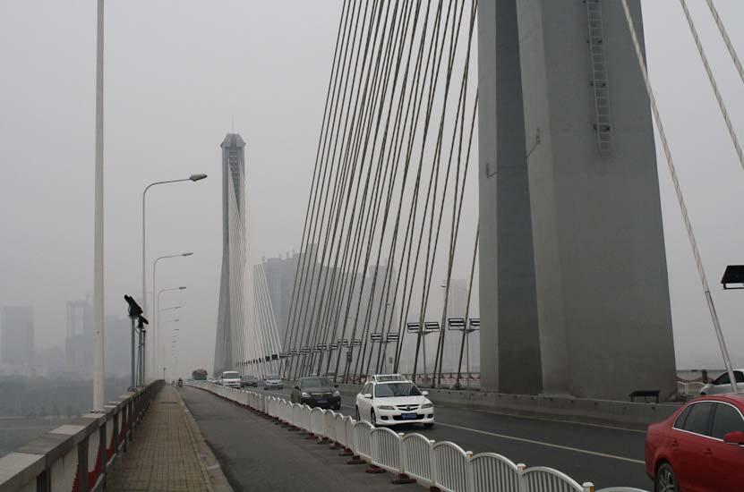 Changsha, Kína: Hídszerkezet Ledvilágítás Korszerűsítése