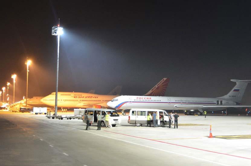 Kambodzsa: LED-es repülőtér világítás korszerűsítés