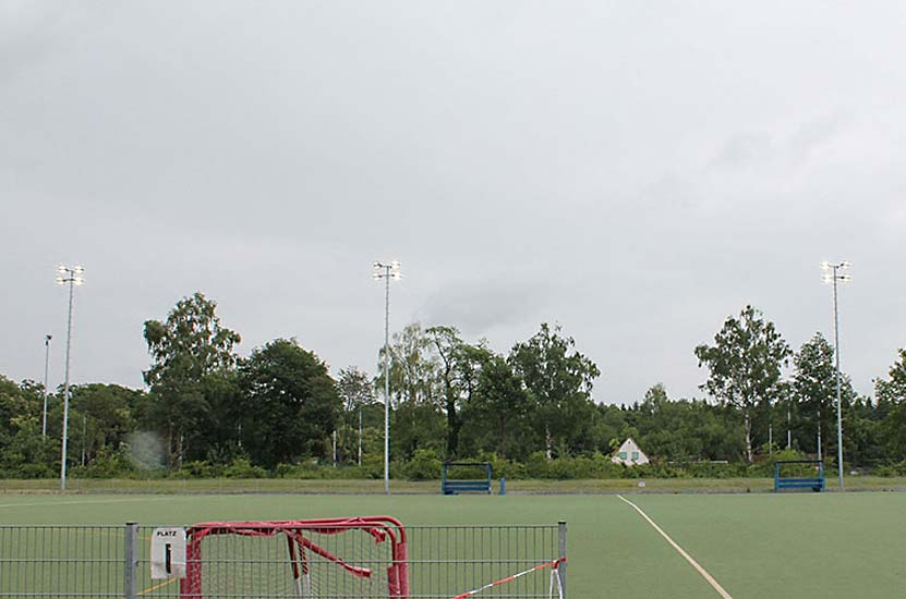 Németország: Sportpálya LED Korszerűsítése